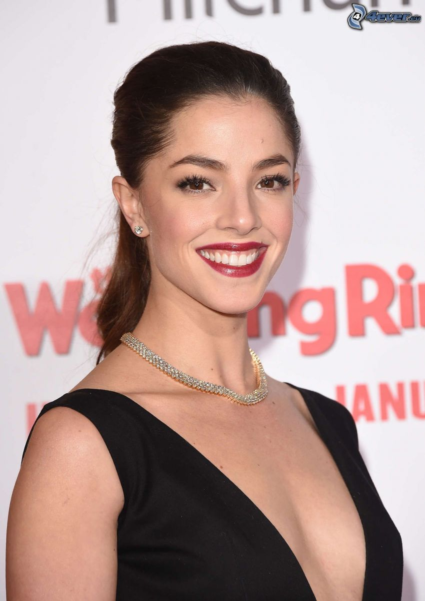 Olivia Thirlby, smile, red lips