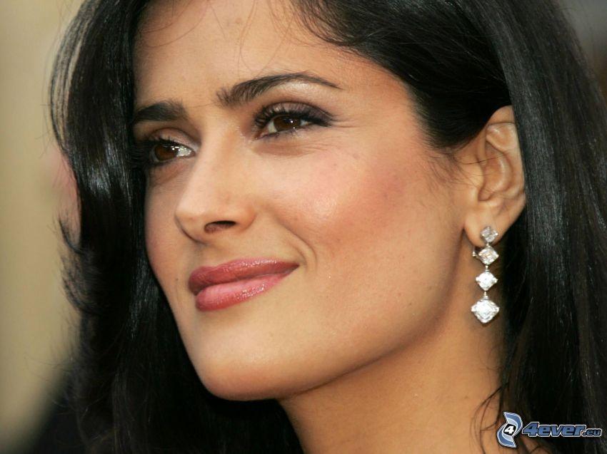 Salma Hayek, earrings