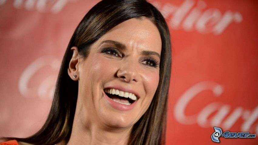 Sandra Bullock, laughter