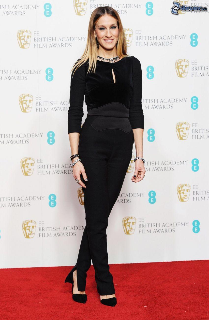 Sarah Jessica Parker, black dress