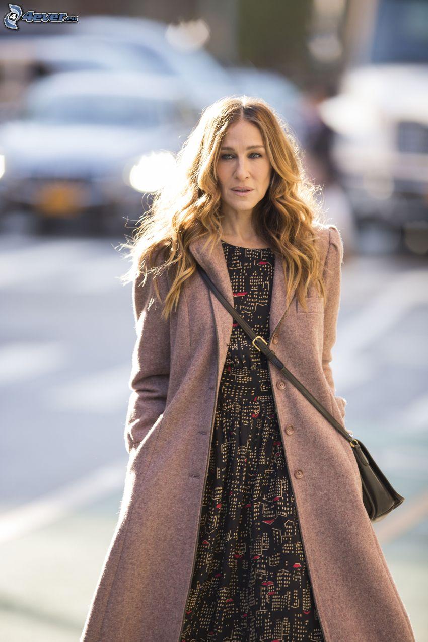 Sarah Jessica Parker, coat