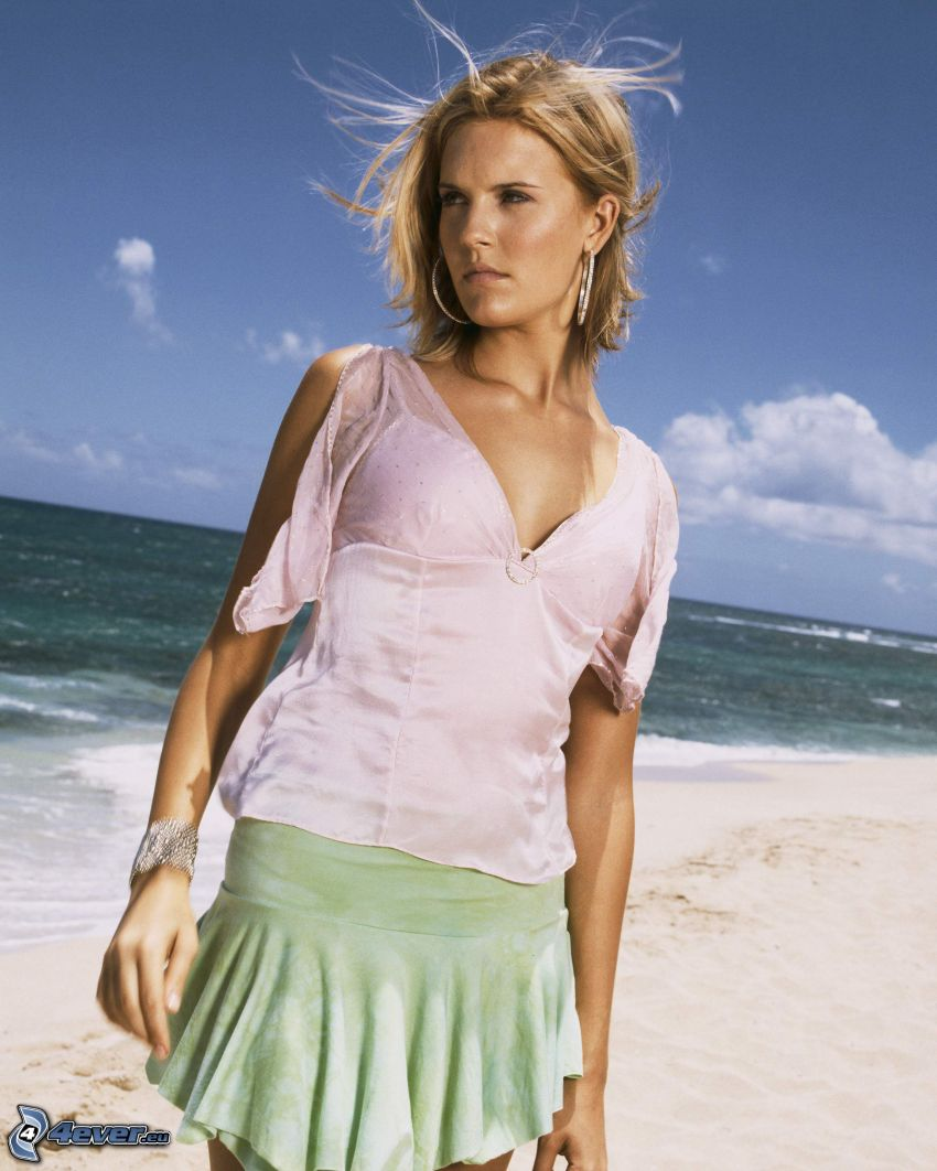 Shannon Rutherford, Maggie Grace, Lost, woman on the beach, sea
