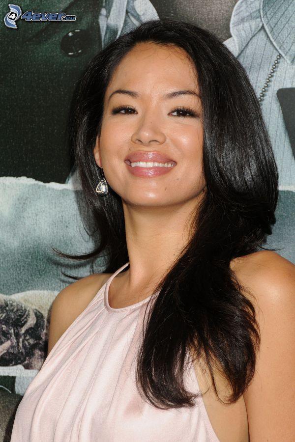Stephanie Jacobsen, smile