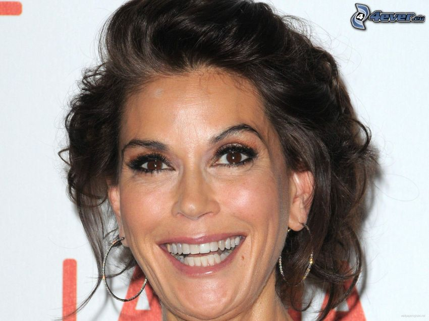 Teri Hatcher, laughter