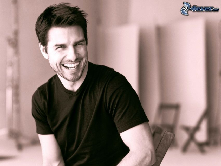 Tom Cruise, laughter