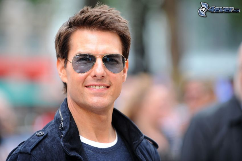 Tom Cruise, man with glasses
