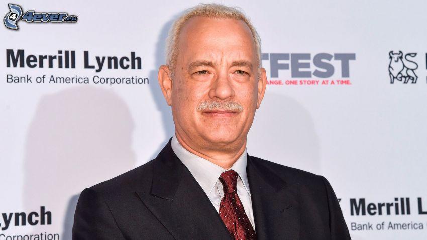 Tom Hanks, man in suit