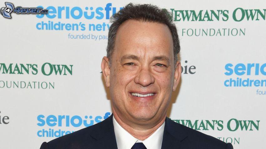 Tom Hanks, smile