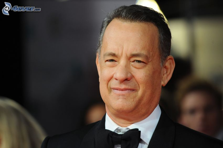 Tom Hanks, smile