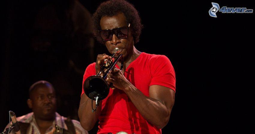 Miles Davis, trumpet playing