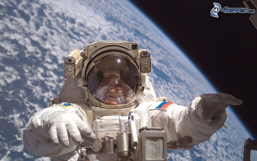 astronaut, Earth