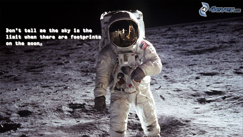 astronaut, Moon, quote, Apollo 11