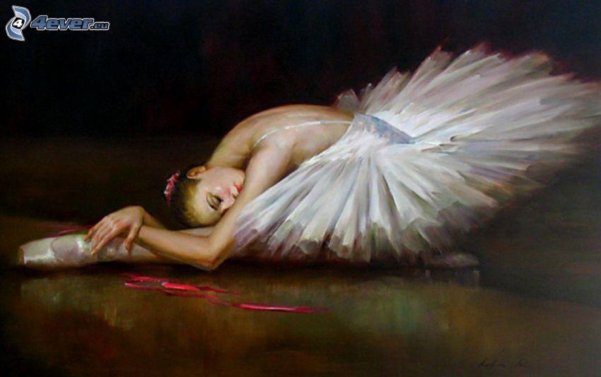 ballerina, cartoon