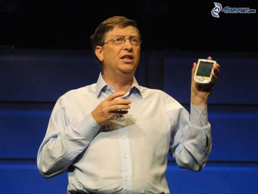 Bill Gates, phone