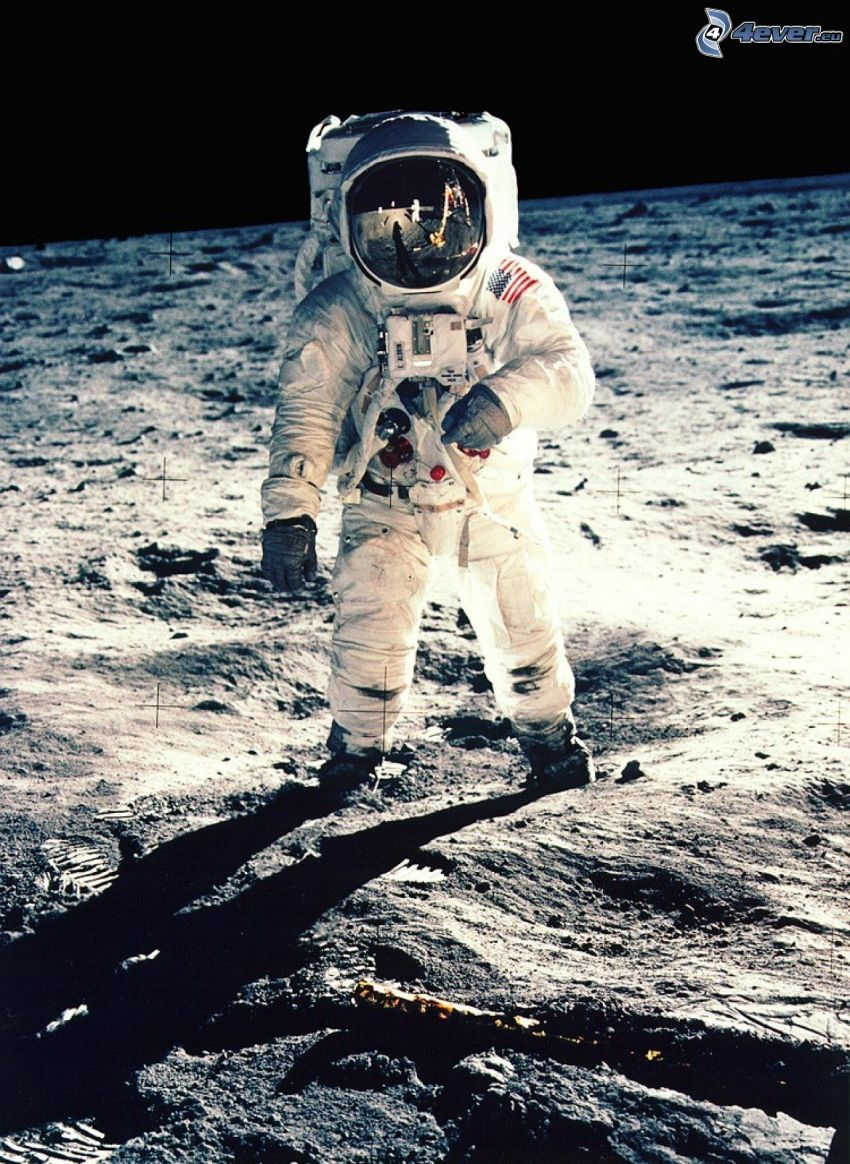 Buzz Aldrin, Apollo 11, astronaut, space suit, Moon