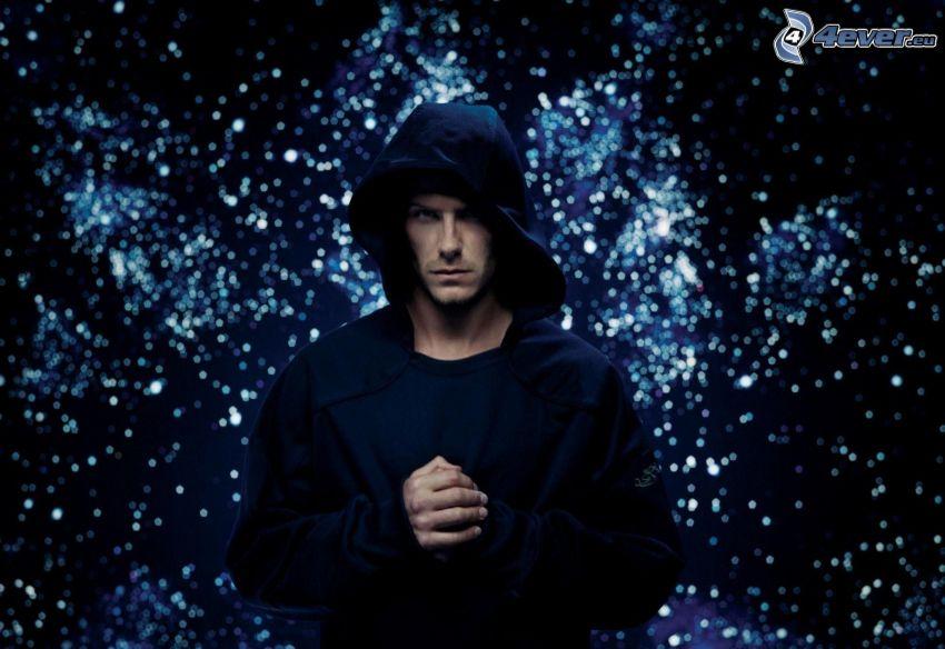 David Beckham, hood