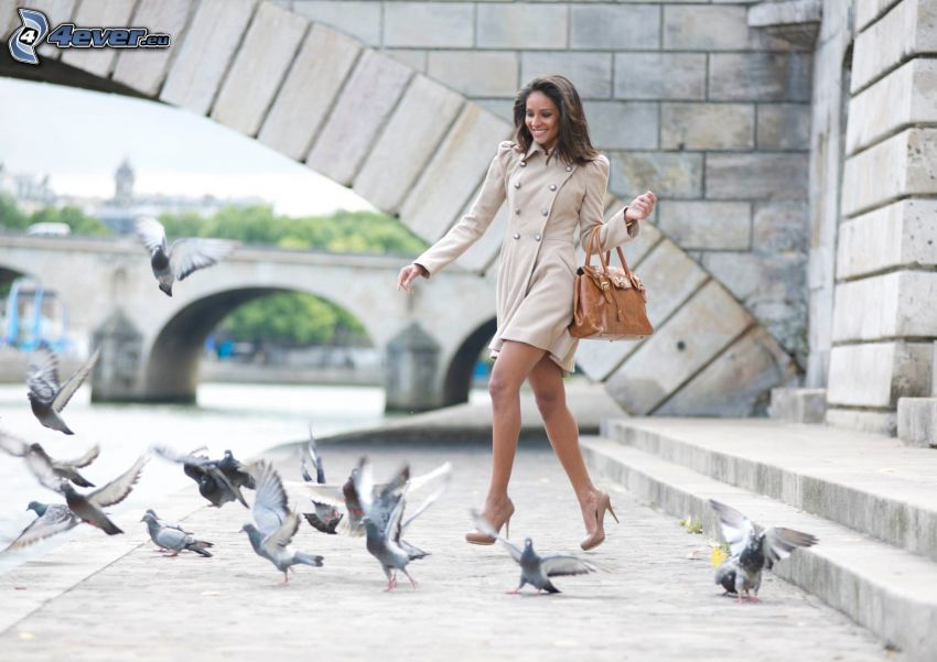 Emanuela de Paula, pigeons