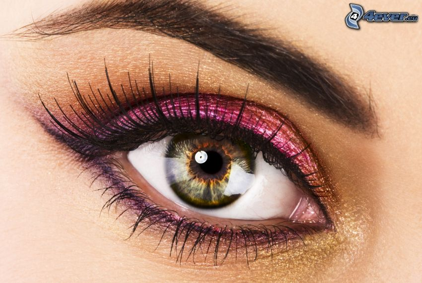 eye, eyelash