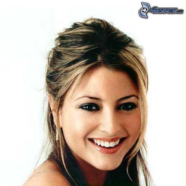 girl, smile