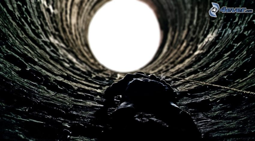 human, water well