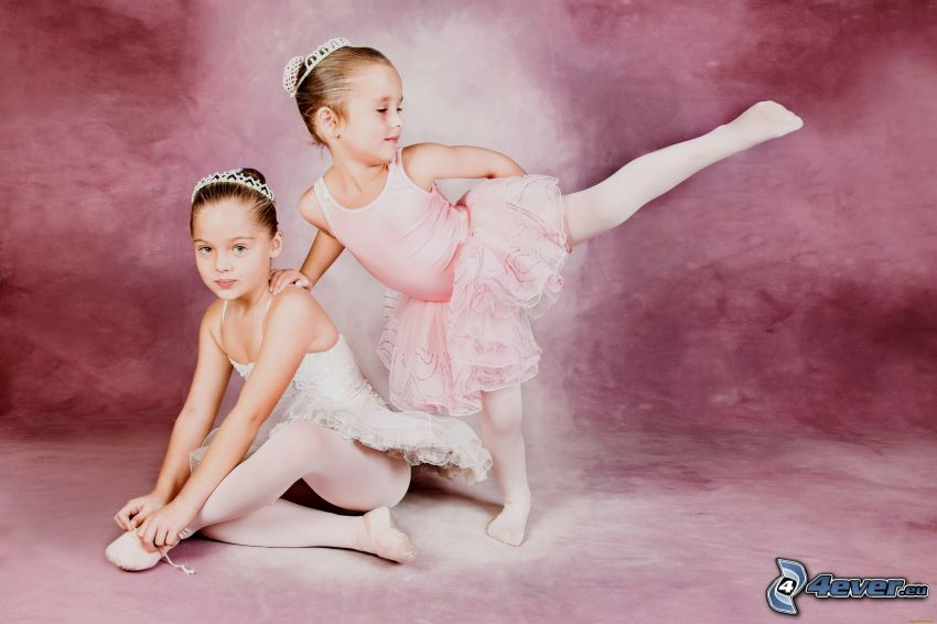 kids, ballerinas