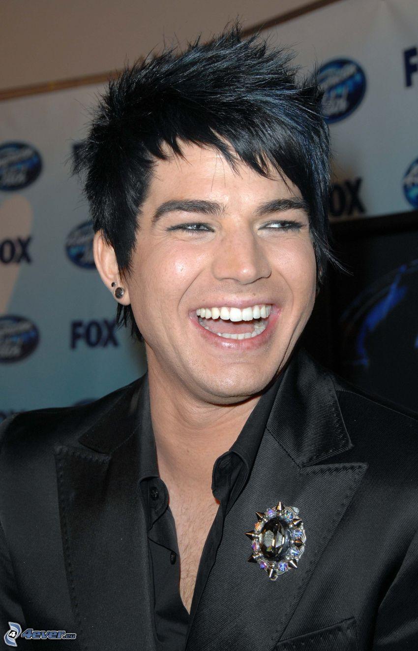 Adam Lambert, laughter