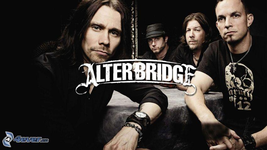 Alter Bridge, Myles Kennedy, Mark Tremonti, Brian Marshall, Scott Phillips