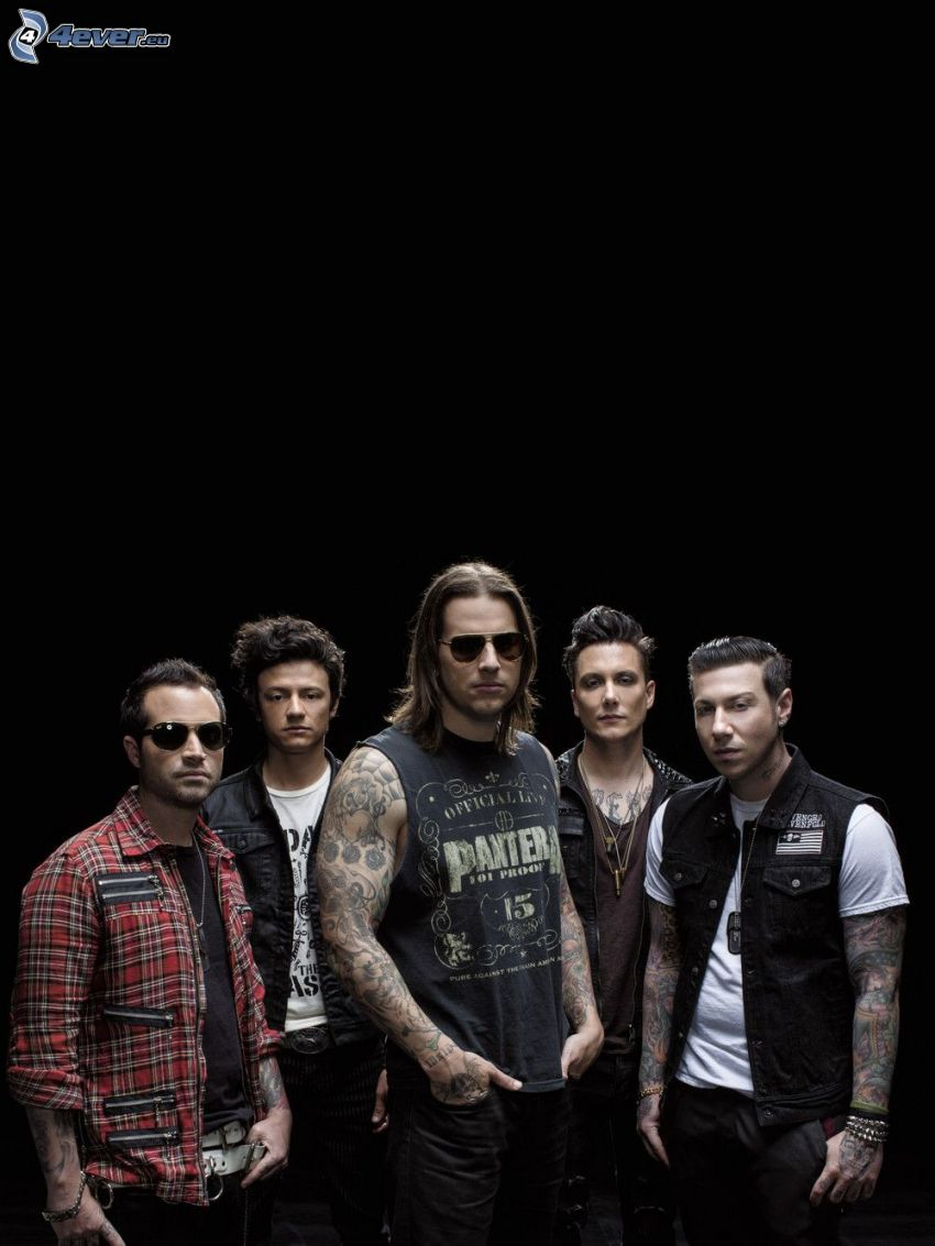 Avenged Sevenfold, tattooed guy