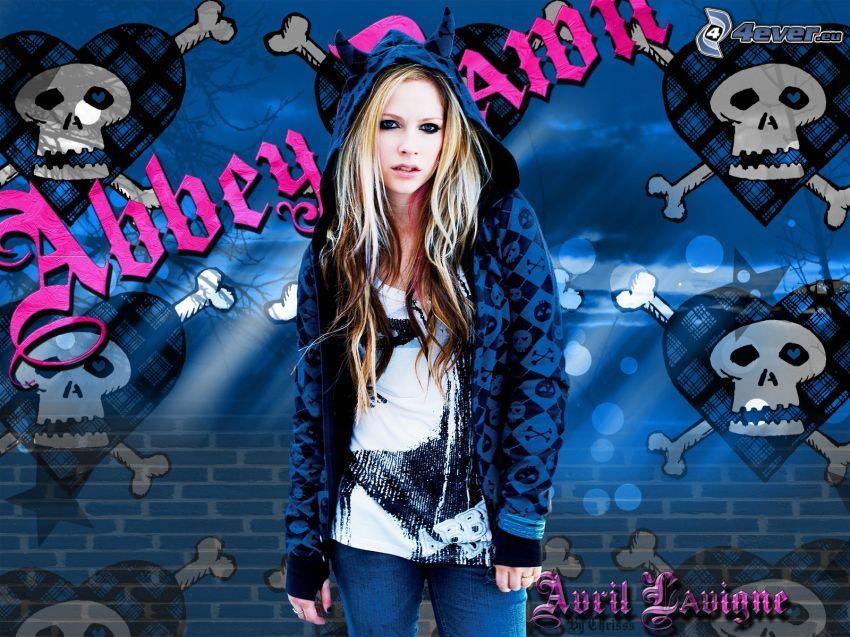 Avril Lavigne, graffiti