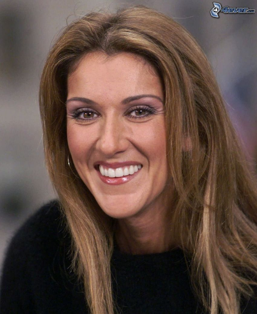 Celine Dion, laughter