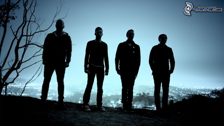 Coldplay, silhouette
