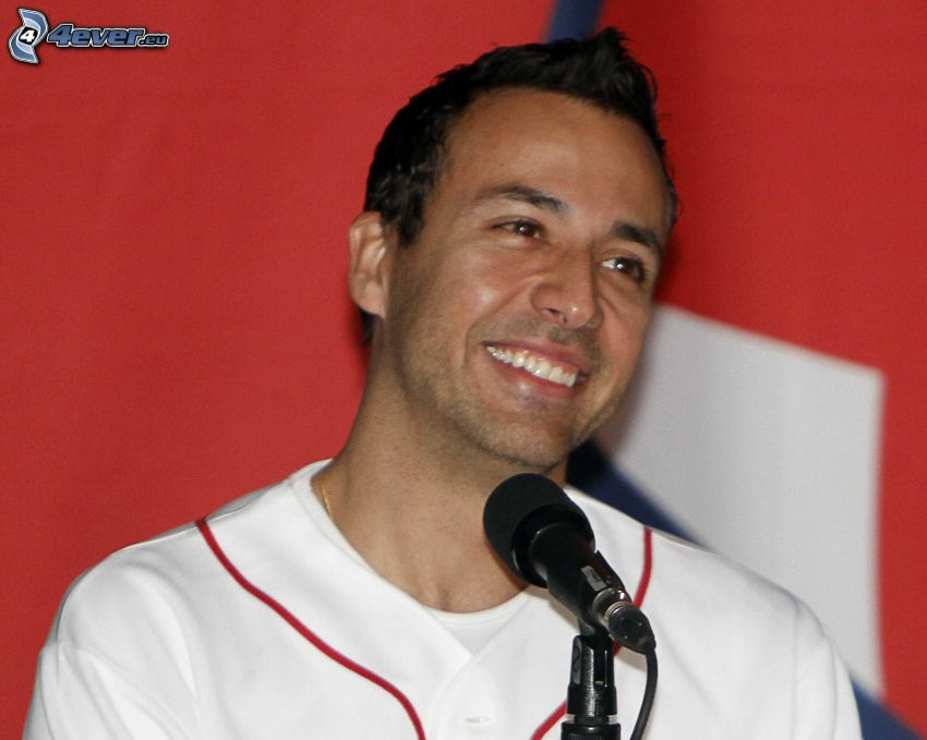 Howie Dorough, smile, microphone