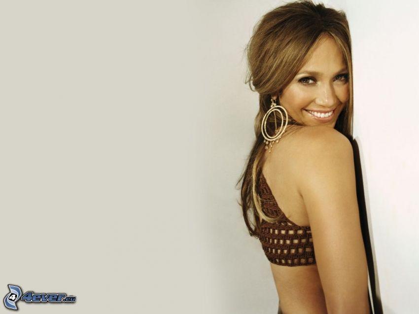 Jennifer Lopez, smile