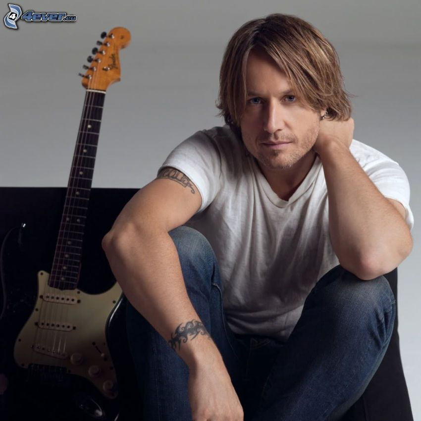 Keith Urban, electric guitar