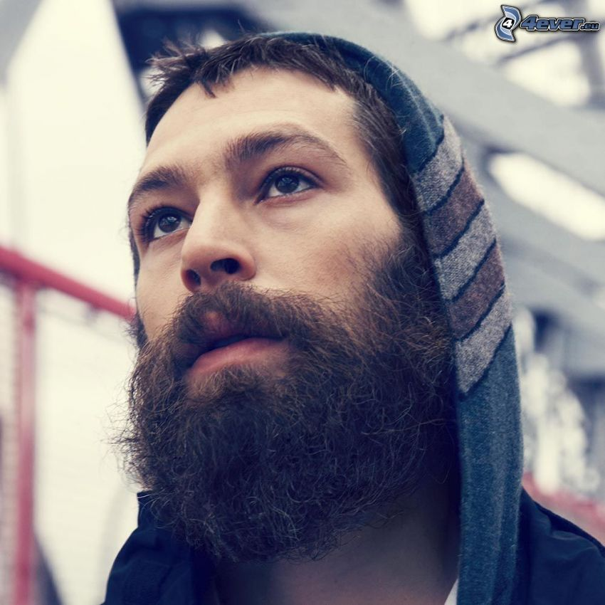 Matisyahu, whiskers