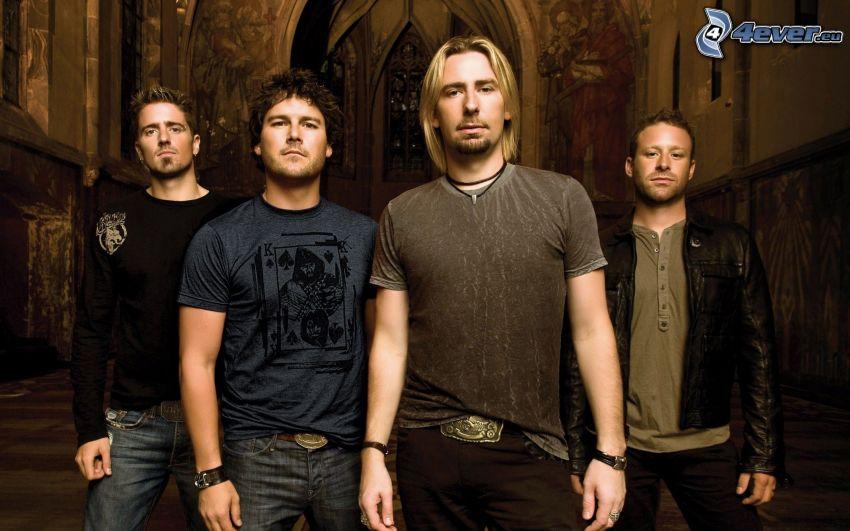 Nickelback, group, church