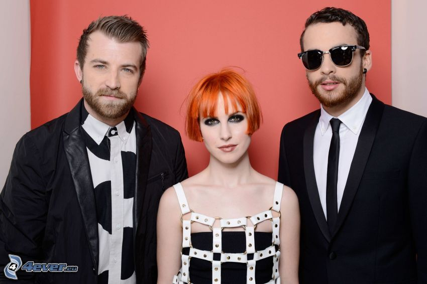 Paramore, man with glasses