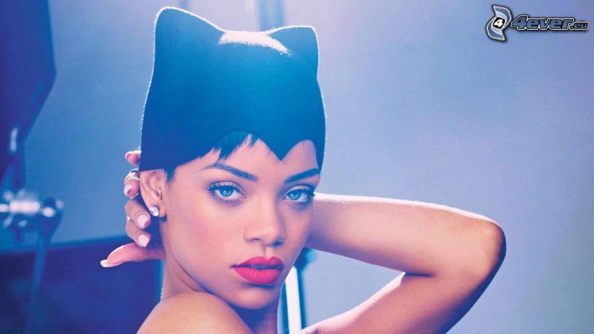 Rihanna, ears