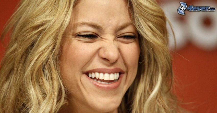 Shakira, laughter