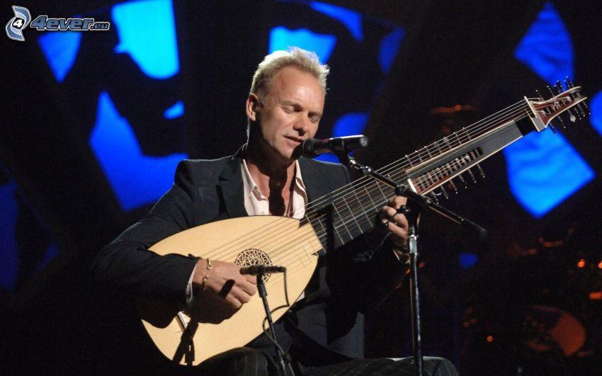 Sting, guitar