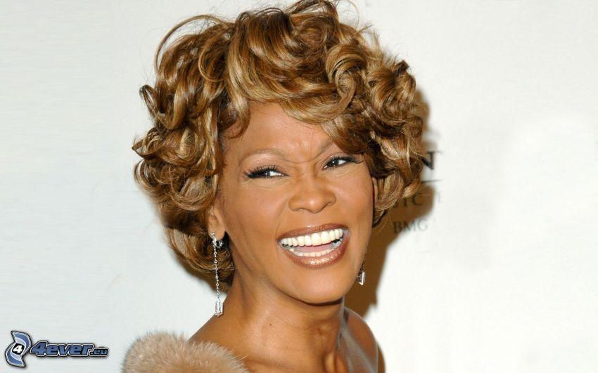 Whitney Houston, laughter