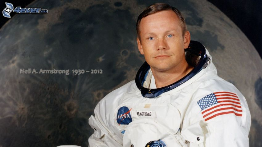 Neil Armstrong, Moon