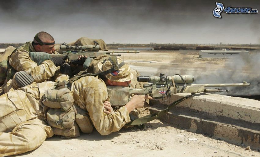 soldiers, shooting