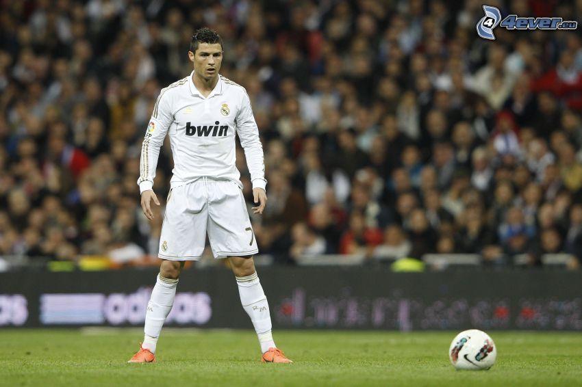 Cristiano Ronaldo, soccer ball