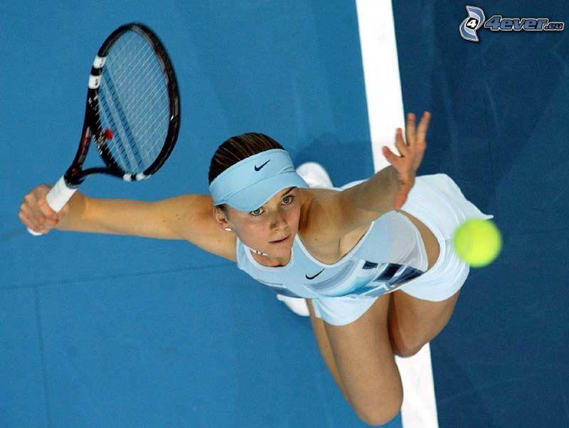 Daniela Hantuchová, tennis player