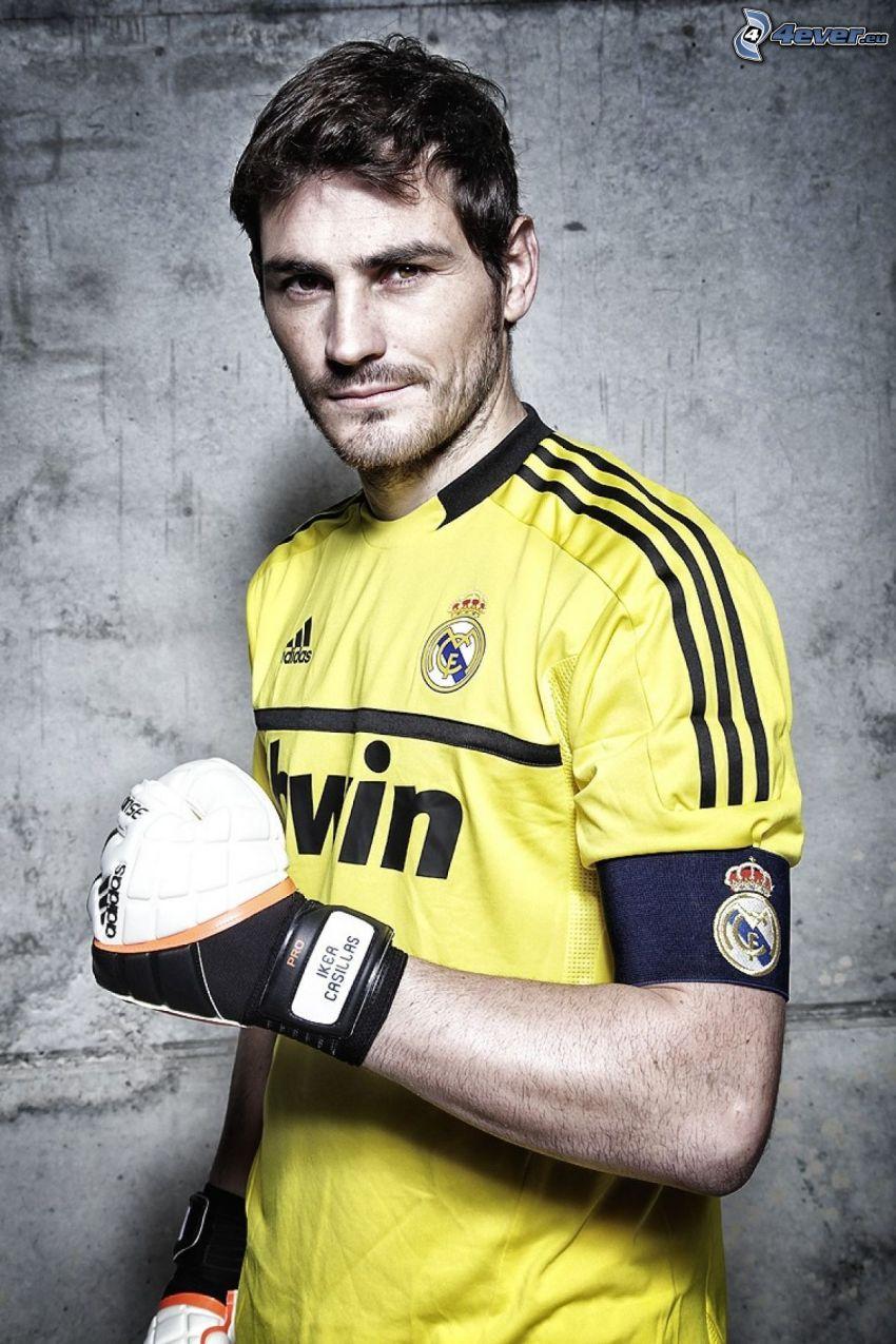 Iker Casillas, footballer