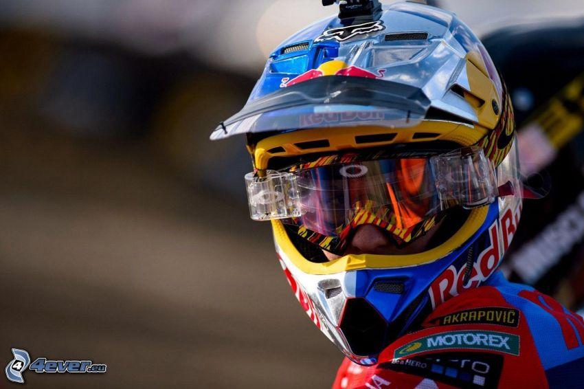 Ken Roczen, helmet