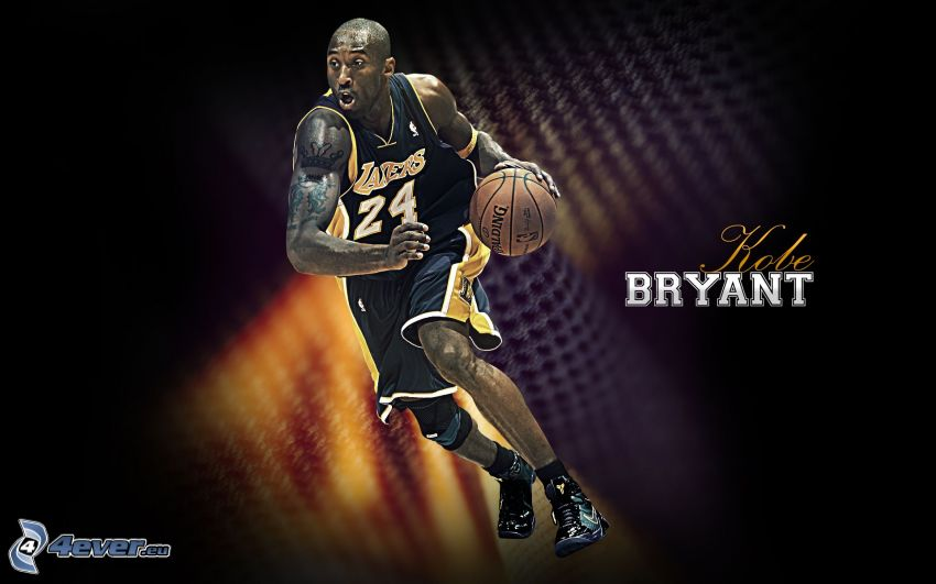 Kobe Bryant, LA Lakers, basketball player