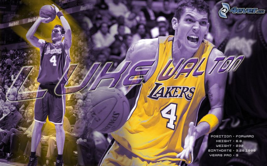 Luke Walton, LA Lakers, NBA, basketball player, basketball, sport, man