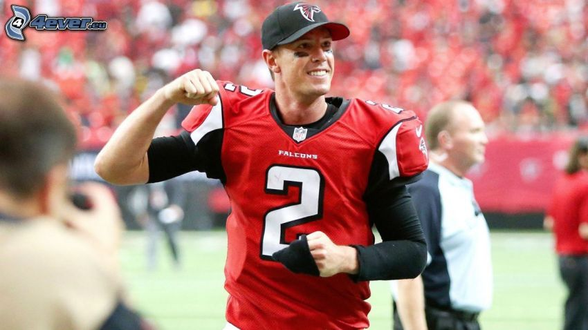 Matt Ryan, smile, cap